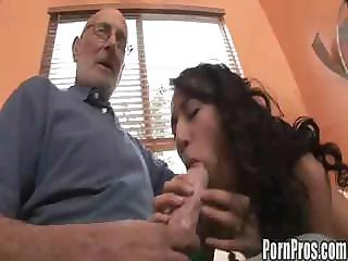 Amia Moretti - Meets Some Old Men To Suck On