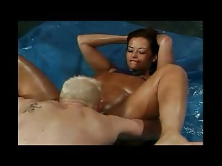 busty booty wrestling mature donita dunes