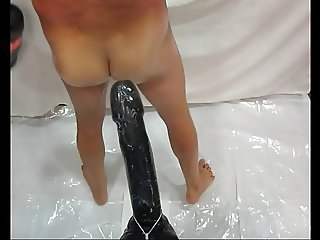 Huge dildos session Part III