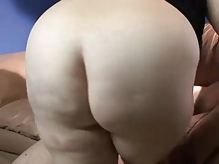 BBW works on herself then works on a cock