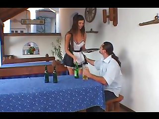 Simony Diamond Is A Hot Little Bar Maid