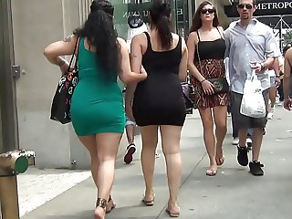 Super Sexy Big Ass In Tight Dress