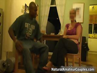 Real amateur couple gets ready to fuck part2