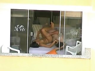Voyeur couple windows neighbor