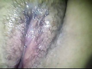 Fucking My Hairy BBW GF (Part 2, With Cumshot on her Pussy)
