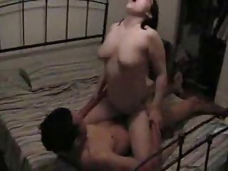 BBW Fucks on squeaky bed