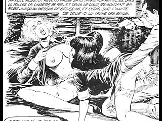Lesbian Outtakes of Erotic Comics