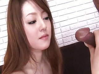 Thick cocks attack Ria pretty little pussy