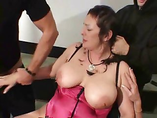Fucked While Having Head Shaved !