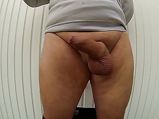 MY COCK IN SLOW MOTION