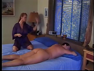 Man wakes a woman and then fucks her