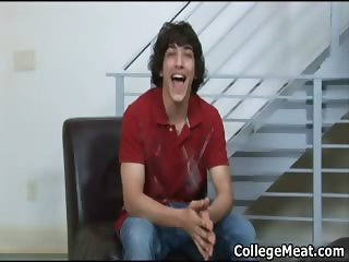 Chandler Cane wanking his cute college part4