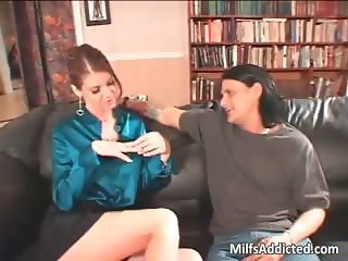 Busty brunette MILF gets pussy fucked part2