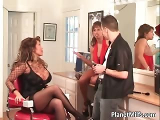 Stud fucks Ava Devine and her friend part2