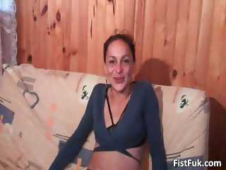 Horny slut gets her tight anusfisted part4