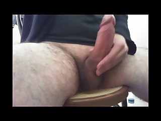 Cumming after a long wank session