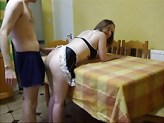 Doggystyle with chubby wife