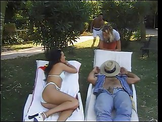 Foursome (mmff) in the garden