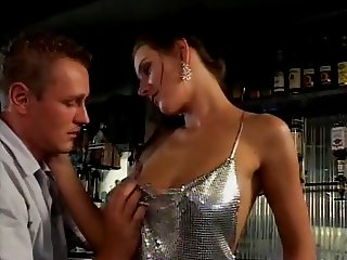Anita Queen - Barmaid serving her customers