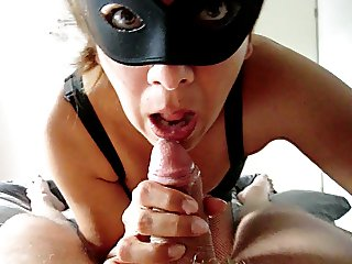 Dutch Alysha 's Blowjob & Swallow his juicy Cum
