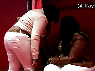 Booty in The Club - Plush BBW White Jeans -=JRay513=-