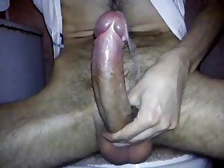 Huge dick, huge cum