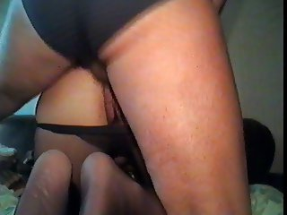 ex gf doggy in pantyhose