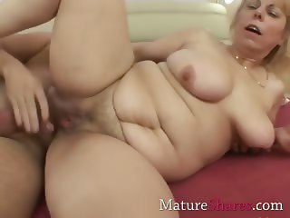 mature pussy gets a drill from behind