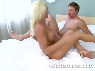 See this sexy fresh blonde MILF