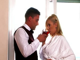 Exciting fucking beautiful girl in hotel