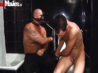 Mature sluts getting dominated in the dungeon
