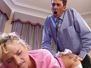 Anal with blonde Sophie Roche