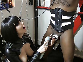 Mistress using her favorite slave