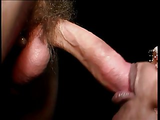 Ebony dick sucking slut gives head