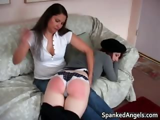 Two hot horny nasty MILF brunette babes part6