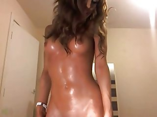 Oiled dancing