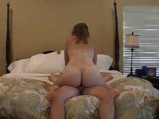 Mature Wife Riding Her husband