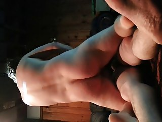 wife gets double penetration by freind and hubby.