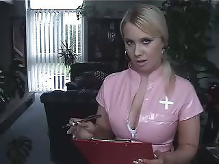Nurse Angel says masturbate more JOI