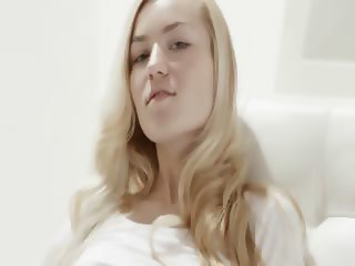 The most beautiful blonde cunt seen