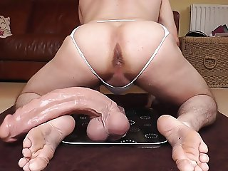 13.5 Inch monster dildo anal #2