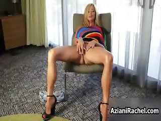 Amazing blonde milf mom with big tits part1