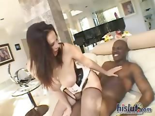 Gianna loves black cock