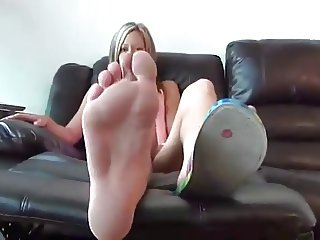 Smell my stinky feet
