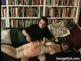 Kinky MILF is sex slave in weird bondage part5