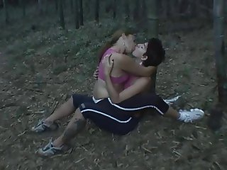 Lizandra and Karla kissing
