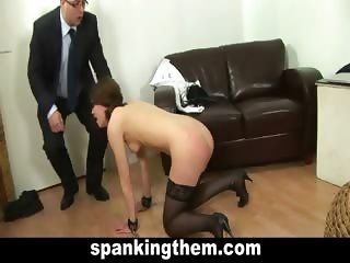 Punished, spanked, humiliated