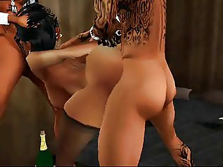 Walt Whiskey Presents IMVU LUX in Broken in Threes