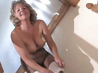Pantyhose granny movies