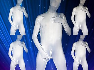 Teasing in MORPHSUIT (Second Skin I Zentai)